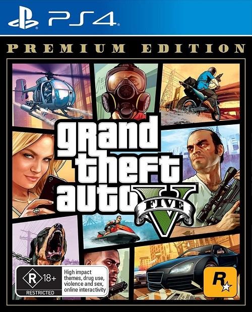 GTA V: Grand Theft Auto Five Premium Edition