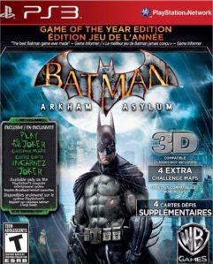 Batman Arkham Asylum GOTYE
