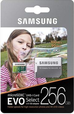 Samsung EVO Select 256GB