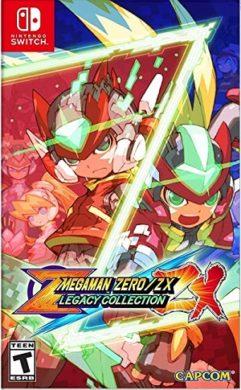 mega man zero zx switch