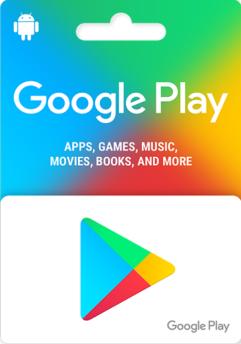 Google Play gift code 25
