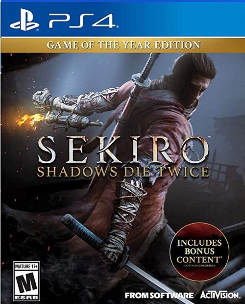 Sekiro Shadows Die Twice GOTYE
