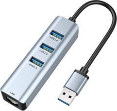 USB 3.0 Hub+RJ45 ethernet port